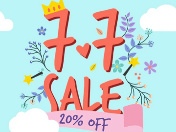 7.7 Double Date Sale! Get EXTRA 20% off your purchase with this Althea promo code