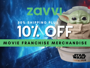 Enjoy 10% OFF & half price shipping with this exclusive Zavvi voucher code