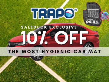 Get extra 10% off when you checkout with this exclusive TRAPO promo code