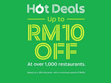 Get up to RM10 off your food order with this GrabFood promo code