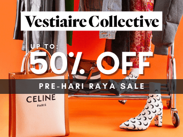 Indulge in discounts of up to 50% off in Ramadan on exceptional pieces at Vestiaire Collective