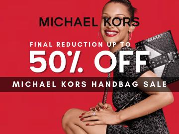 Michael Kors Sale: Enjoy mega discounts up to 50% OFF handbags now!