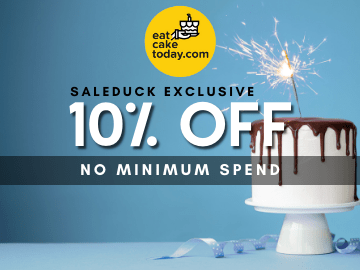 Order using this Eat Cake Today exclusive promo code for 10% OFF