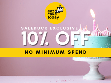 Save 10% OFF for all cakes using this exclusive Eat Cake Today coupon