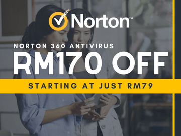 Save up to RM170 OFF on Norton 360 Antivirus this 11.11 Sale!